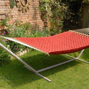 Deck Set - komplett set med hängmatta och ställning - Chilli