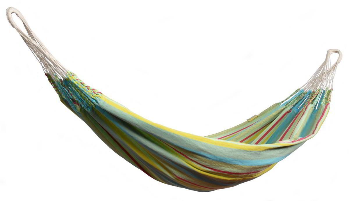 Iguana singel-hängmatta - Olive