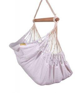 Knit hängstol - White - Stor