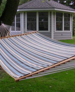 Sunbrella vadderad dubbel-hängmatta - Celeste